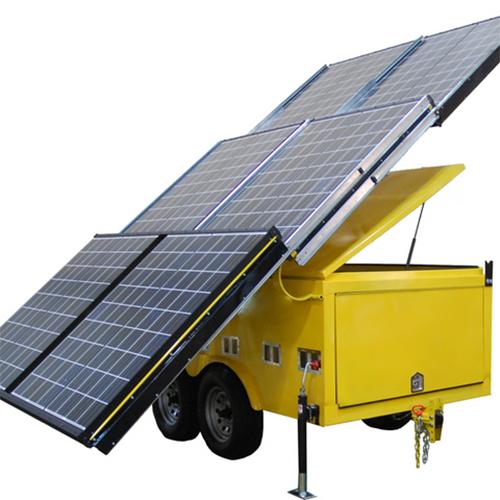 Mobile Solar Power system