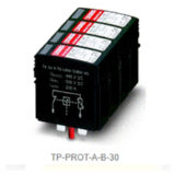 DC overvoltage protection (type 2) for inputs A + B ( STP-30 only )
