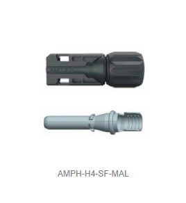 H4 Stamped and Formed 4-6mm Connector - Male