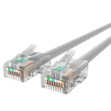 Cat 5e Terminated RJ45 Ivory Shielded - 10m